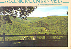 Mountain View,Loyalsock Canyon, PA Postcard