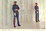 Click here to enlarge image and see more about item cs2410a: USS Arizona Memorial Pearl Harbor HI Postcard cs2410a