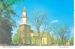 Bruton Parish Church,Williamsburg, VA Postcard