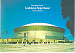 Click here to enlarge image and see more about item cs2428: New Orleans Louisiana Superdome Postcard cs2428