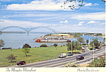Memphis Tennessee Waterfront Postcard cs2439