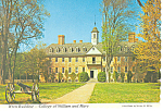 Wren Building,College Of William And Mary  Postcard