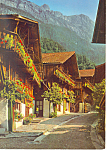 Brienz BE, Switzerland Postcard