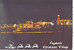 Click here to enlarge image and see more about item cs2452: Koziar's Christmas Village, Bernville,PA Postcard