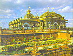 Click here to enlarge image and see more about item cs2453: Prabhupada'  Palace of Gold Moundsville WV Postcard cs2453