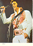 Click here to enlarge image and see more about item cs2457: Elvis Presley 1935 1977  Postcard cs2457