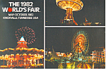1982 World s Fair Knoxville Tennesse Postcard cs2465