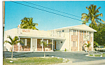 New Royal Tern Motel Naranja Florida Postcard cs24847