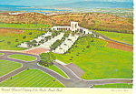 Click here to enlarge image and see more about item cs2484: Memorial Cemetery of the Pacific Postcard