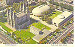 Salt Lake City Utah Temple Square Postcard cs2492