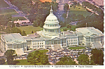 US Capitol Washington DC Postcard cs2512