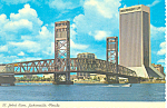 Main Street Bridge Jacksonville Florida Postcard cs2515
