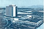 International Hotel  Las Vegas Nevada Postcard cs2520