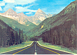 Rogers Pass,British Columbia,Canada Postcard