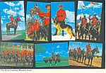 Click here to enlarge image and see more about item cs2529: Royal Canadian Mounted Police Postcard cs2529