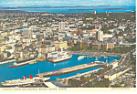 Click here to enlarge image and see more about item cs2530: Victoria s Harbor British Columbia Canada Postcard  cs2530