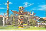 Click here to enlarge image and see more about item cs2531: Thunderbird Park Victoria,British Columbia Canada Postcard cs2531