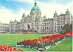 Click here to enlarge image and see more about item cs2533: Parliament Victoria British Columbia Canada Postcard cs2533