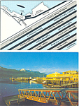 Click here to enlarge image and see more about item cs2552: Merchants WharfJuneau Alaska Postcard cs2552