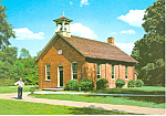 Click here to enlarge image and see more about item cs2554: Scotch Settlement School Greenfield Village MI Postcard cs2554