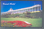 Grand Hotel Mackinac Island  Michigan Postcard cs2562
