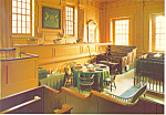 Click here to enlarge image and see more about item cs2588: Pennsylvania Supreme Court Chamber Postcard cs2588
