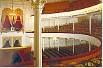 Click here to enlarge image and see more about item cs2595: Ford's Theatre Presidential Box Postcard