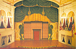 Click here to enlarge image and see more about item CS2600: Ford's Theatre Stage & Presidential Box Postcard
