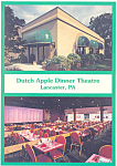 Dutch Apple Dinner Theatre Lancaster PA Postcard cs2608