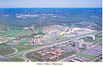 Marriott s Hunt Valley Inn Maryland Postcard cs2609