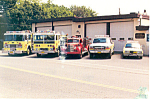 Southern Manheim Township Fire Company Postcard