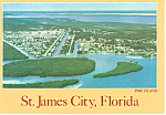 Aerial View,St James City,Florida Postcard