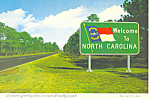 Welcome to North Carolina Highway Sign cs2625