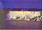 American Falls,Niagara Falls,Ontario at night