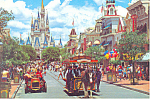 Main Street USA  Walt Disney World  Florida cs2636