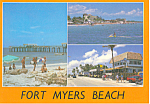Fort Myers Beach Florida Three Views cs2674