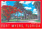 Fort Myers  Florida McGregor Boulvevard cs2677