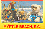 Teddy Bears on Myrtle Beach South Carolina cs2684