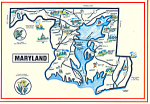 Click here to enlarge image and see more about item cs2693: State Map of Maryland