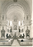Interior St Michaelkirche, Munchen,Germany RPPC