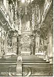 Interior St Johann Nepomukkirche, Munchen,Germany RPPC