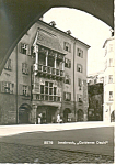 Click here to enlarge image and see more about item cs2737: Goldenes Dachl,Innsbruck, Austria RPPC