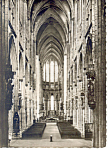 Cologne, Germany Cathedral Interior RPPC