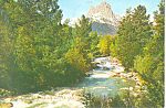 Mountain and Stream Scenic Postcard