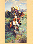 The Homesteaders by John Clymer Postcard cs2833
