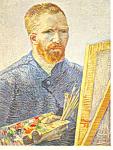 Vincent van Gogh,Portrait de l'artiste Postcard