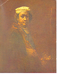 Rembrandt Harmenzs Rijn, Portait in old age Postcard