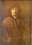 Rembrandt Harmenzs Rijn, Large Self Portait Postcard
