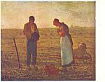 F Millet L'Angelus Postcard