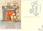 Kewpies Looking For Santa Claus Postcard cs2889